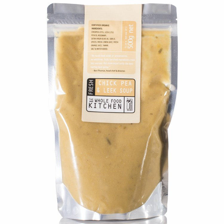 Chickpea and Leek Soup 500mL