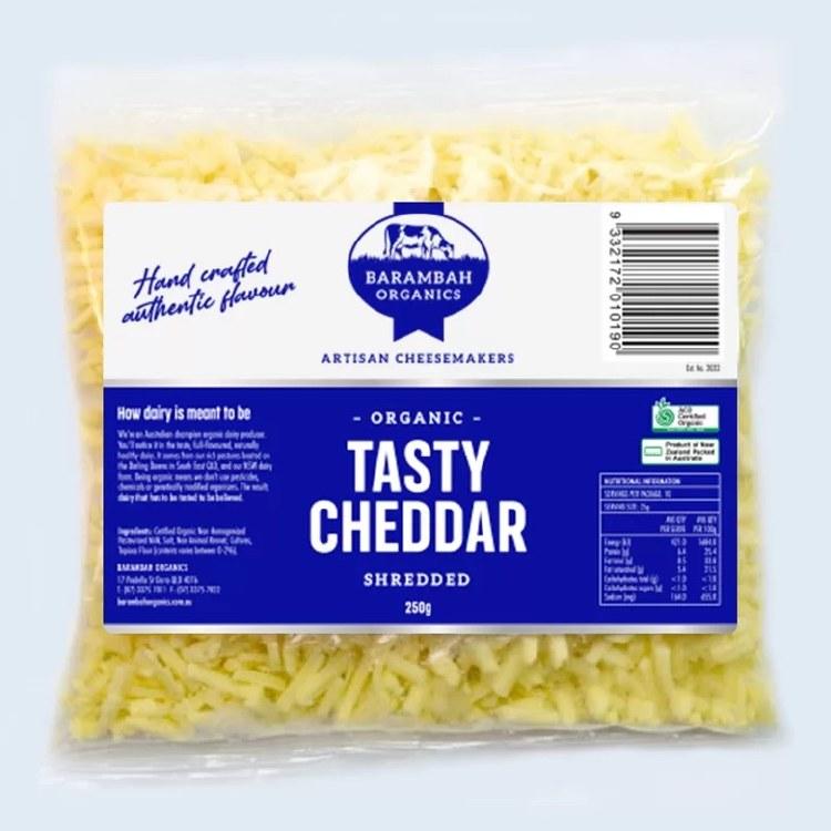 Cheese Tasty Cheddar Shredded 250gm