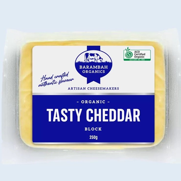 Cheese Tasty Cheddar Block 250gm