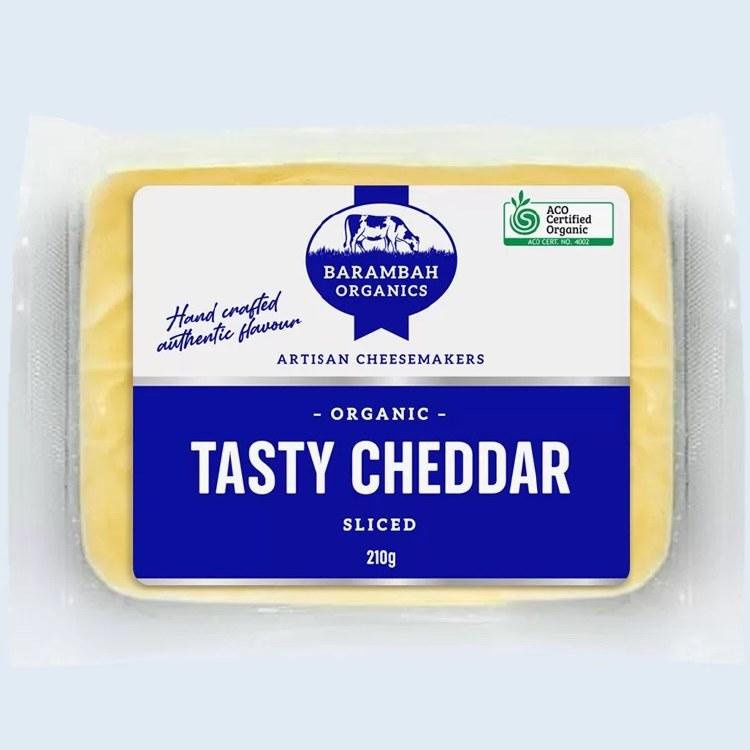 Cheese Tasty Cheddar Sliced 210gm
