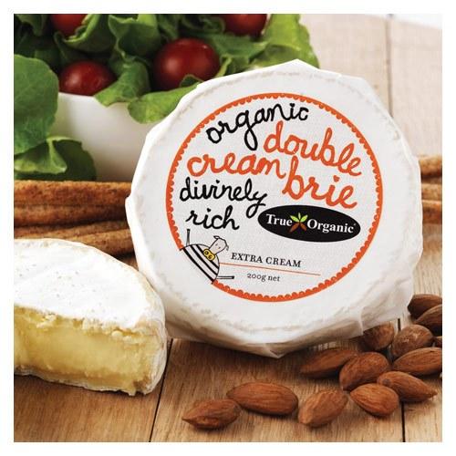 Cheese Brie Double Cream 200gm