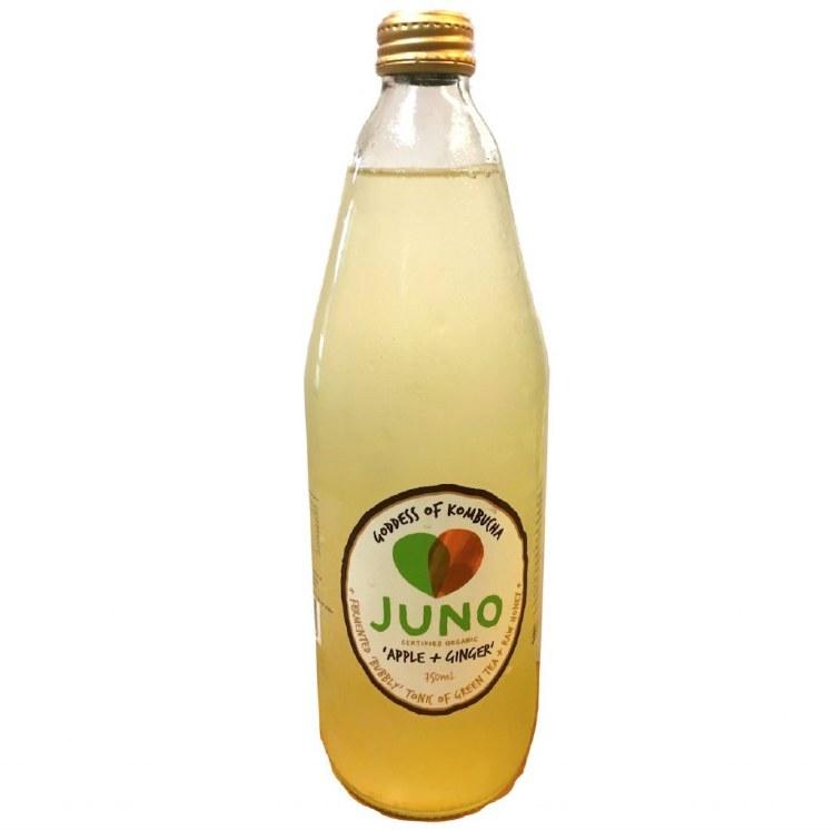 Juno Kombucha Apple & Ginger 750ml