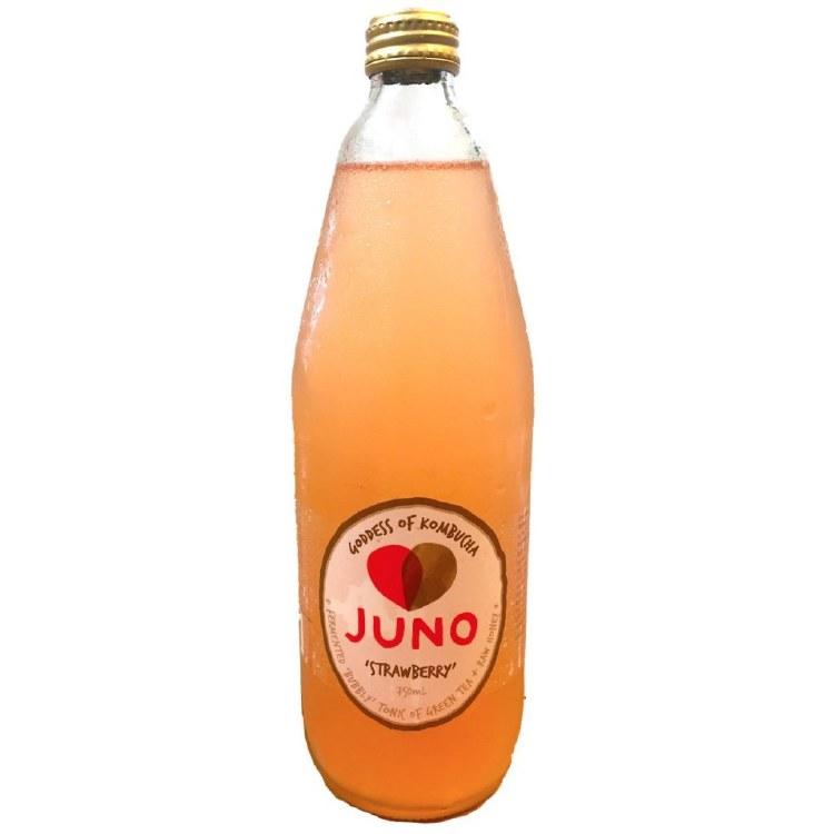 Juno Kombucha Strawberry 750ml