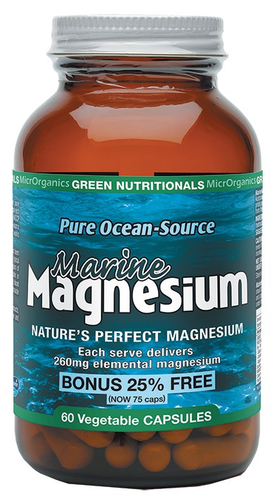 Marine Magnesium VegeCaps (260mg) 60 Caps
