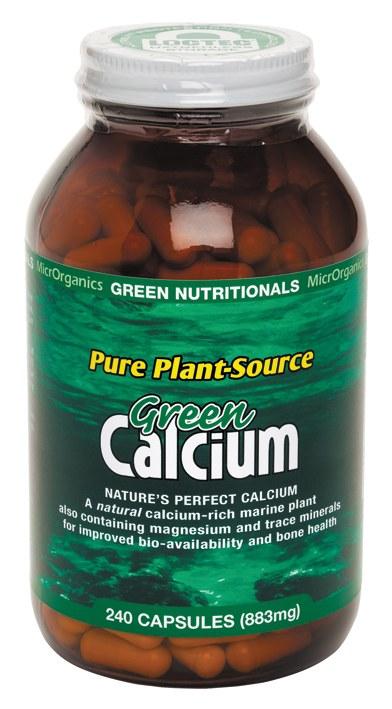 Green Calcium (Plant Source) Capsules (883mg) Large 240 Caps