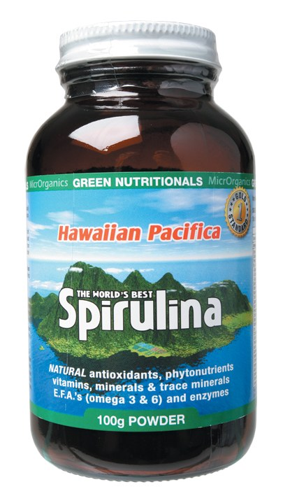 Hawaiian Pacifica Spirulina Powder 100gm
