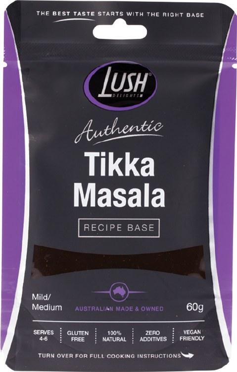 Authentic Recipe Base Tikka Masala - Mild/Medium 60gm