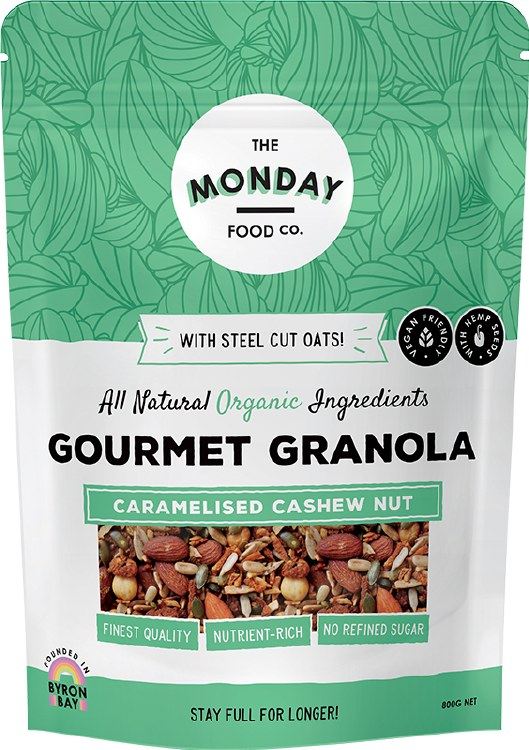 Gourmet Granola Caramelised Cashew Nut 800gm