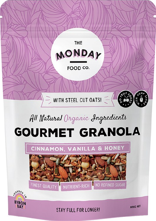 Gourmet Granola Cinnamon, Vanilla & Honey 800gm