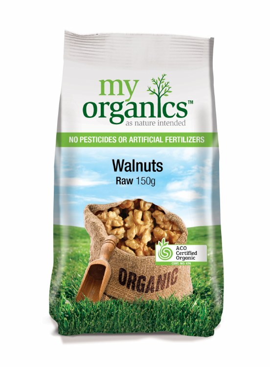 Organic Raw Walnuts 150gm