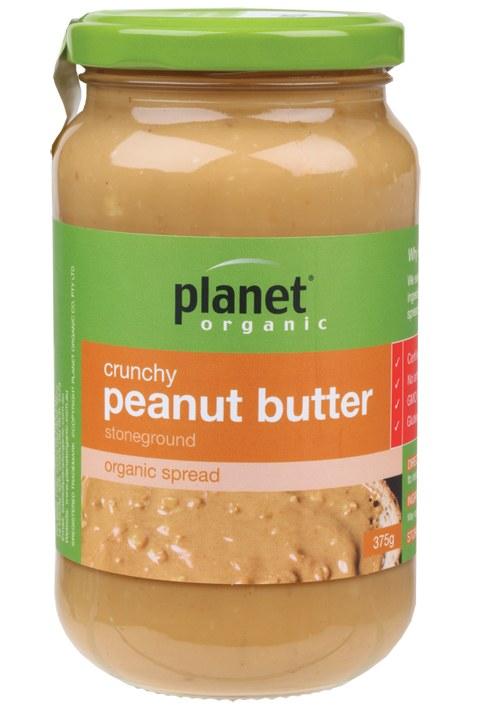 Peanut Butter Crunchy 375gm