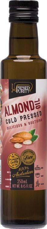 Almond Oil Cold Pressed 250ml