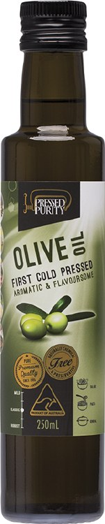 Olive Oil Cold Pressed 250ml