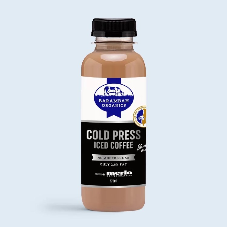 Cold Pressed Iced Coffee 375ml