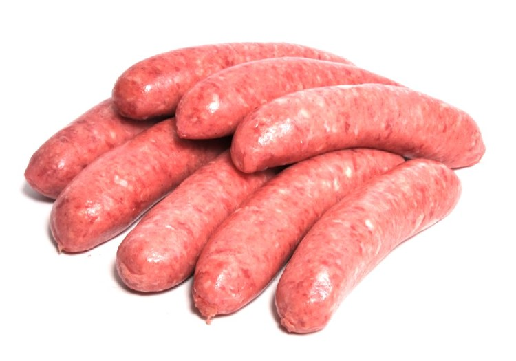Beef Sausages BBQ Thin 500gm