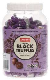 Chocolate Truffles Black - Bulk Tub 60x12gm