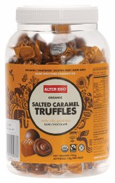 Chocolate Truffles Salted Caramel - Bulk Tub 60x12gm