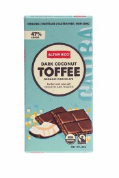 Chocolate Dark Coconut Toffee 80gm