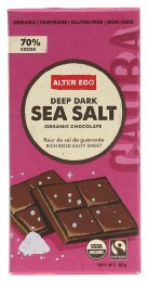 Chocolate Dark Sea Salt 80gm