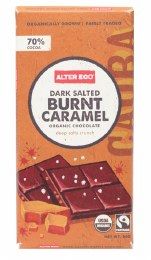 Chocolate Dark Salted Burnt Caramel 80gm