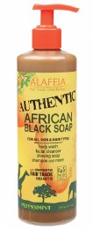 African Black Soap Peppermint 475ml