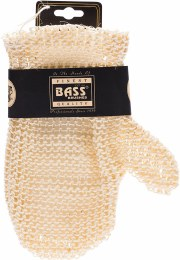 Sisal Deluxe Hand Glove Knitted Style, Firm Single Pack