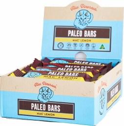 Paleo Bars Mac' Lemon - Box of 12 12x45gm