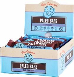 Paleo Bars Blueberry - Box of 12 12x45gm