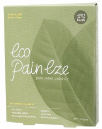 Eco PainEze Pain Relief Patches 6