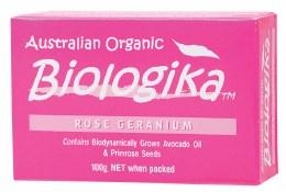 Soap Rose Geranium 100gm