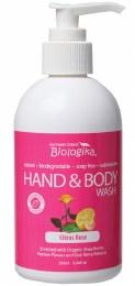 Hand & Body Wash Citrus Rose 250ml