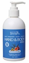 Hand & Body Wash Mediterranean Bliss 250ml