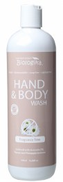 Hand & Body Wash Fragrance Free 500ml