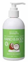 Hand & Body Wash Coconut 250ml