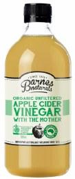 Apple Cider Vinegar Organic & Unfiltered 500ml