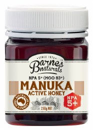 Manuka Active Honey NPA 05+ (MGO83+) 250gm
