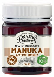 Manuka Active Honey NPA 10+ (MGO263+) 250gm