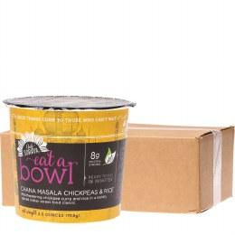 Eat a Bowl Chana Masala Chickpeas & Rice 6x70gm Tubs