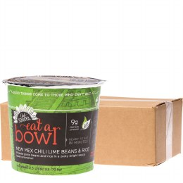 Eat a Bowl New Mex Chili Lime Beans & Rice 6x70gm Tubs