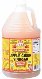 Apple Cider Vinegar Unpasteurised & Unfiltered Bulk 3.8L