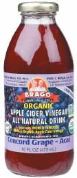 Apple Cider Vinegar Drink ACV with Grape & Acai 473ml