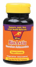 Hawaiian Astaxanthin Vegan Caps (12mg) 50 Caps