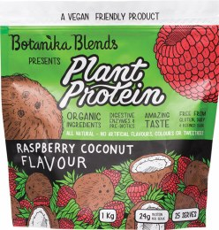Plant Protein Raspberry Coconut Large 1kg