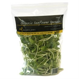 Sprouts Sunflower 100gm Bag