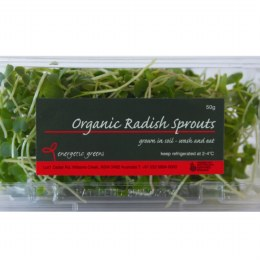 Sprouts Radish 50gm Punnet
