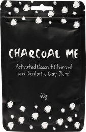 Coconut Charcoal Powder With Bentonite Clay 60gm