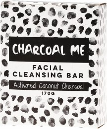 Facial Cleansing Bar Activated Coconut Charcoal 170gm