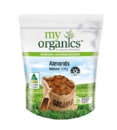 Almonds Natural 500gm