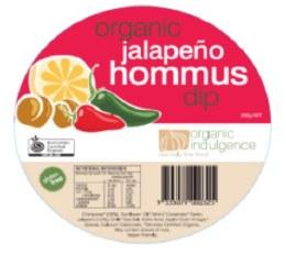 Jalapeno Hummus Dip 200gm