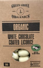 White Chocolate Licorice 180gm